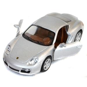 модель porsche cayman s серебро