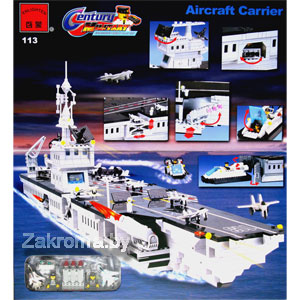 ����������� BRICK 113 ��������� Aircraft Carrier  980 �������.