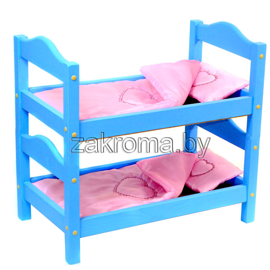 Как сделать двухъярусную кровать для беби бона