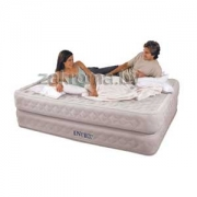 INTEX 66962 �������� �������  Air Flow Bed 66962  (203�152�51��).  ���������� ������������� �����