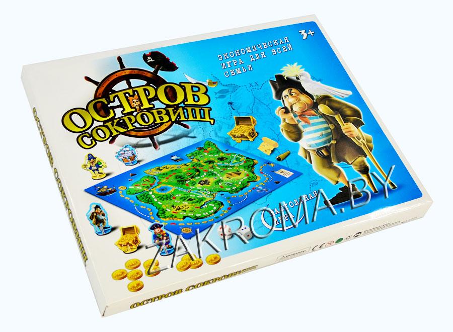 экономическая игра для всей семьи остров сокровищ