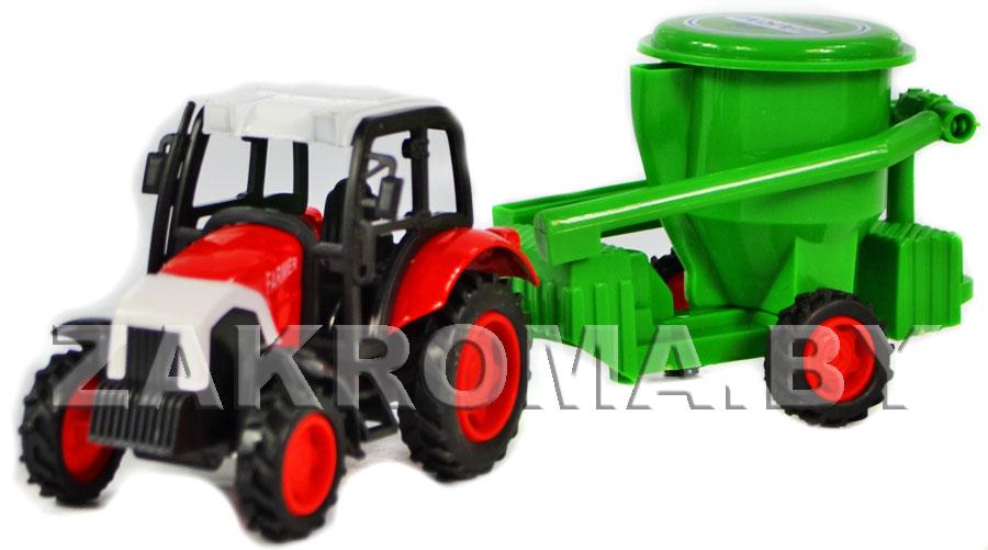 Игрушка Трактор Серия МАСТЕР Полесье Polesie  YouTube