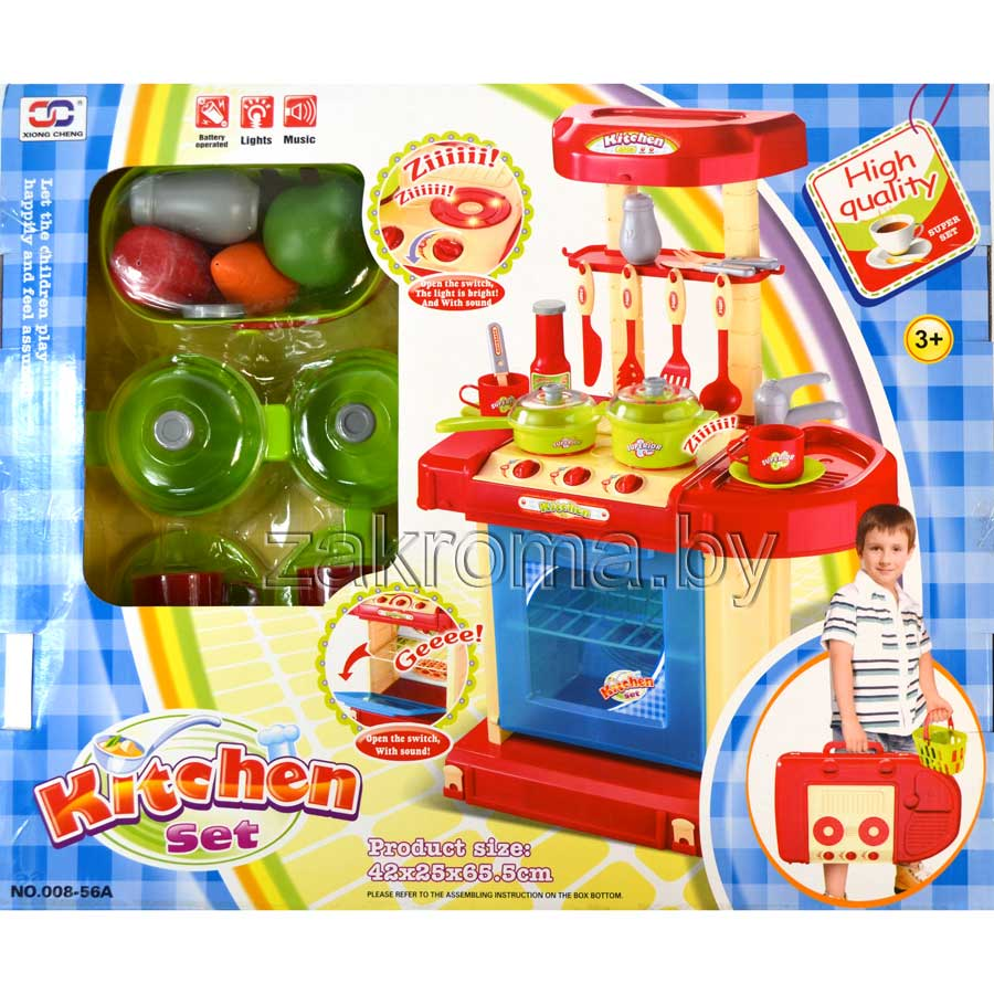 "ƒ≈""— јя  ""'Ќя »√–ќ¬јя KITCHEN SET —  ќ–«»Ќќ… ѕ–ќƒ"" ""ќ¬, «¬"" ќ¬џћ» » —¬≈""ќ¬џћ» Ё''≈ ""јћ», ј–"". 008-56A"