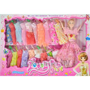 Кукла с платьями набор