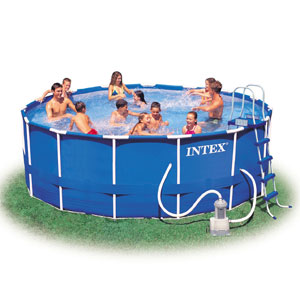Intex 56946 аЮЯЯЕИМ ЙЮПЙЮЯМШИ Metal Frame Pools 457*122ЯЛ ОНКМШИ ЙНЛОКЕЙР