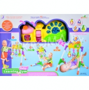 деряйхи хцпнбни пюгбхбючыхи жемрп LEARNING BABY GYM юпр. A2012. ябернбше х гбсйнбше щттейрш.