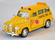 "ћ≈""јЋЋ»""≈— јя ћќƒ≈Ћ№ CHEVROLET SUBURBAN SCOOL BUS 1950 √.¬. ћј—Ў""јЅ 1:36 ј–"". KT5005D"