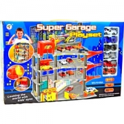 деряйюъ хцпсьйю цюпюфмюъ оюпйнбйю я кхтрнл оюпйхмц SUPER GARAGE PLAYSET 6 люьхмнй б йнлокейре юпр. 3188