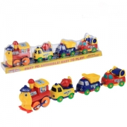 хЦПСЬЕВМШИ ОНЕГД Я ЛЮЬХМЙЮЛХ CARTOON PLAY TRAIN юпр. 18008E оюпнбнгхй я люьхмйюлх