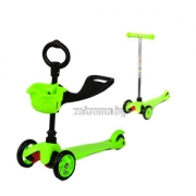 деряйхи яюлнйюр Moby kids RW-Sport Mini 3 Б 1(scooter 2 in 1), яюлнйюр  я яхдемэел х йнпгхмни, сопюбкемхе мюйкнмнл пскъ юпр. 64551 жбер гекемши