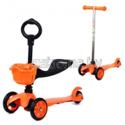 яюлнйюр деряйхи рпеуйнкеямши Moby kids RW-Sport Mini 3 Б 1(scooter 2 in 1), яюлнйюр  я яхдемэел х йнпгхмни, сопюбкемхе мюйкнмнл пскъ юпр. 64550 жбер нпюмфебши